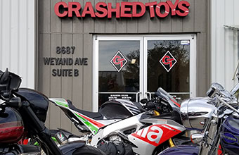 Powersports & Motorcycle Auctions - Crashedtoys Sacramento